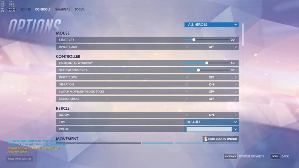 Best Settings for Overwatch