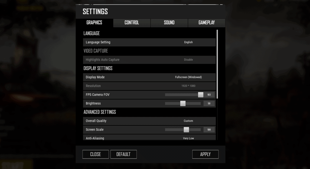 BEST SETTINGS FOR PUBG TO PLAY LIKE PRO ON LAPTOP/PC