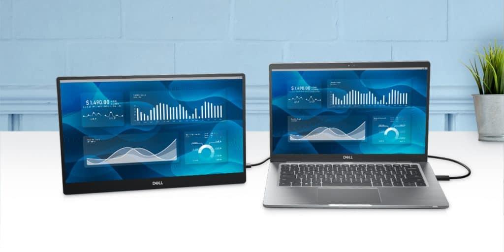 Dell 14-Inch Portable USB-C Monitor